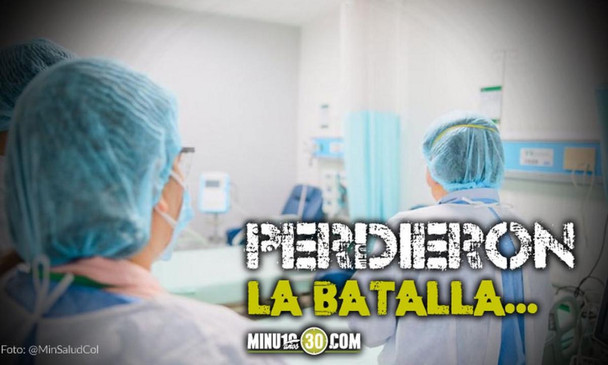 ¡Lamentable! Por Covid murieron 614 personas en Colombia
