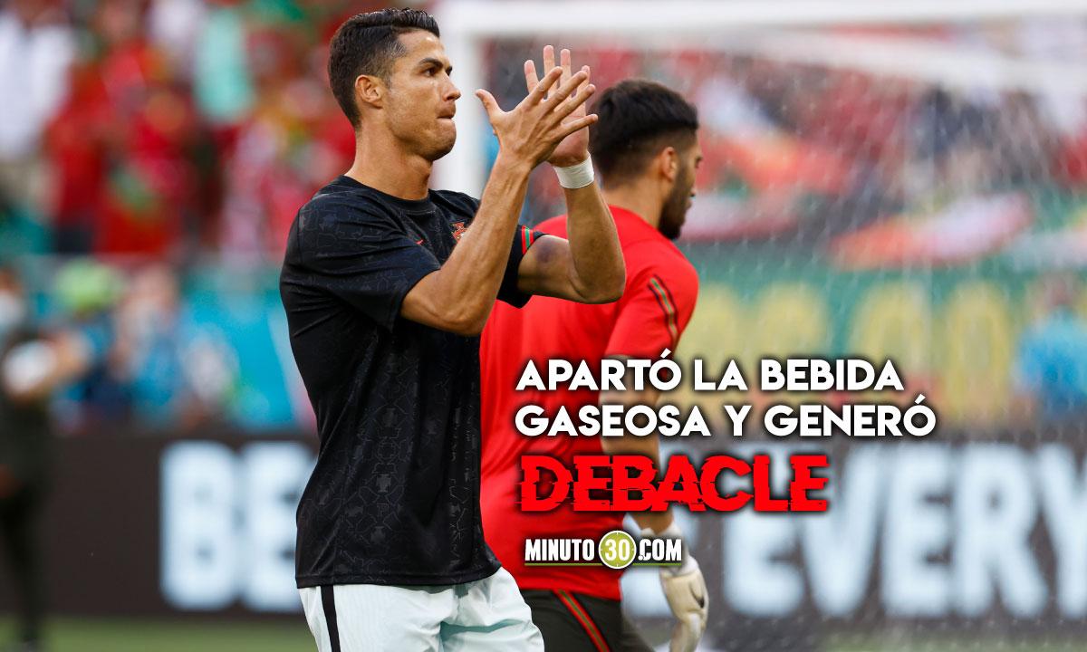Cristiano Ronaldo genera millonaria caida en Coca Cola