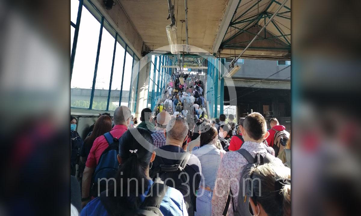 Dano en la Estacion San Antonio va para largo aca le contamos que paso 2