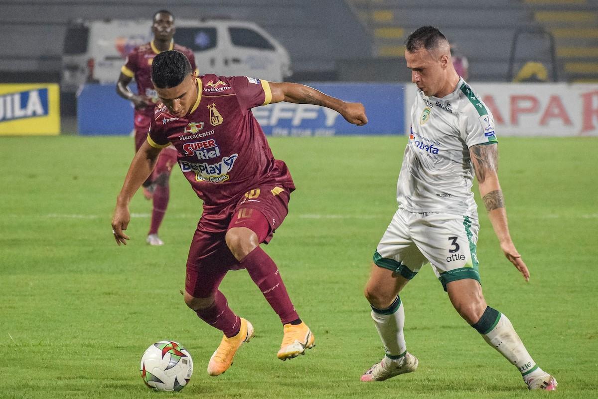 Deportes Tolima vs La Equidad semifinales de la Liga 2