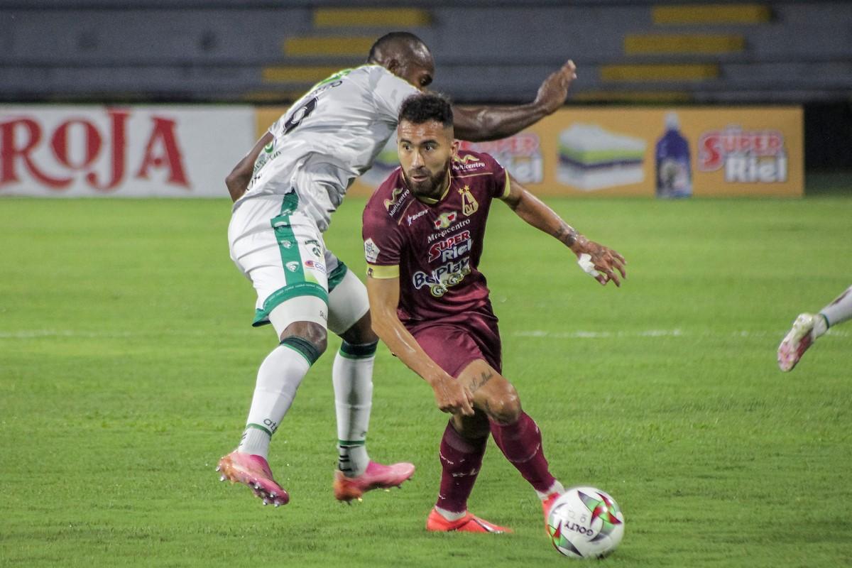 Deportes Tolima vs La Equidad semifinales de la Liga 4