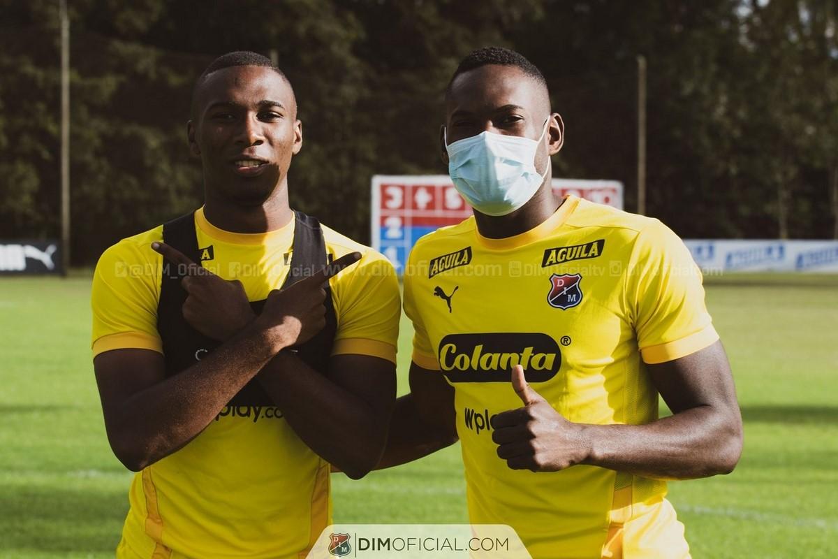 Diber Cambindo entrena con Independiente Medellin 4