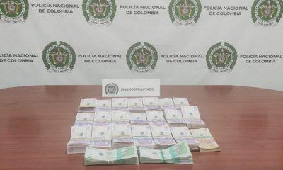 Incautaron 120 millones de pesos que iban a ser enviados por el Olaya Herrera
