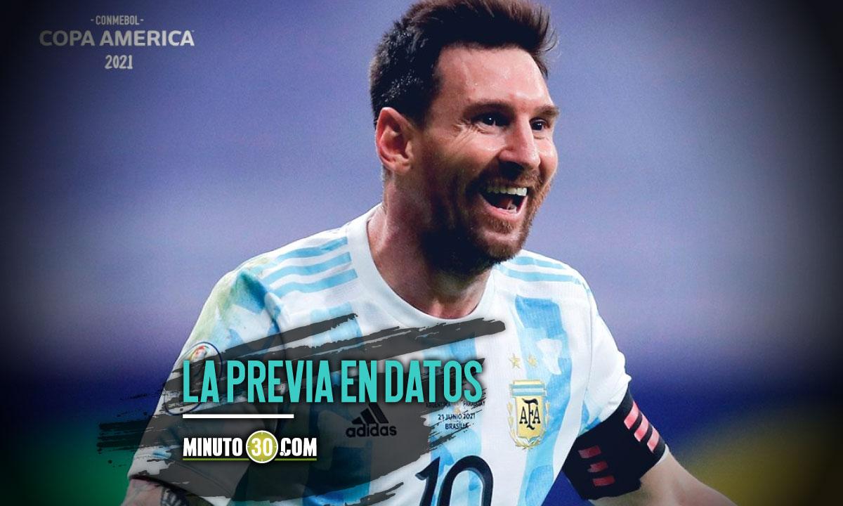Dos partidos en la programacion para hoy en la Copa America 1