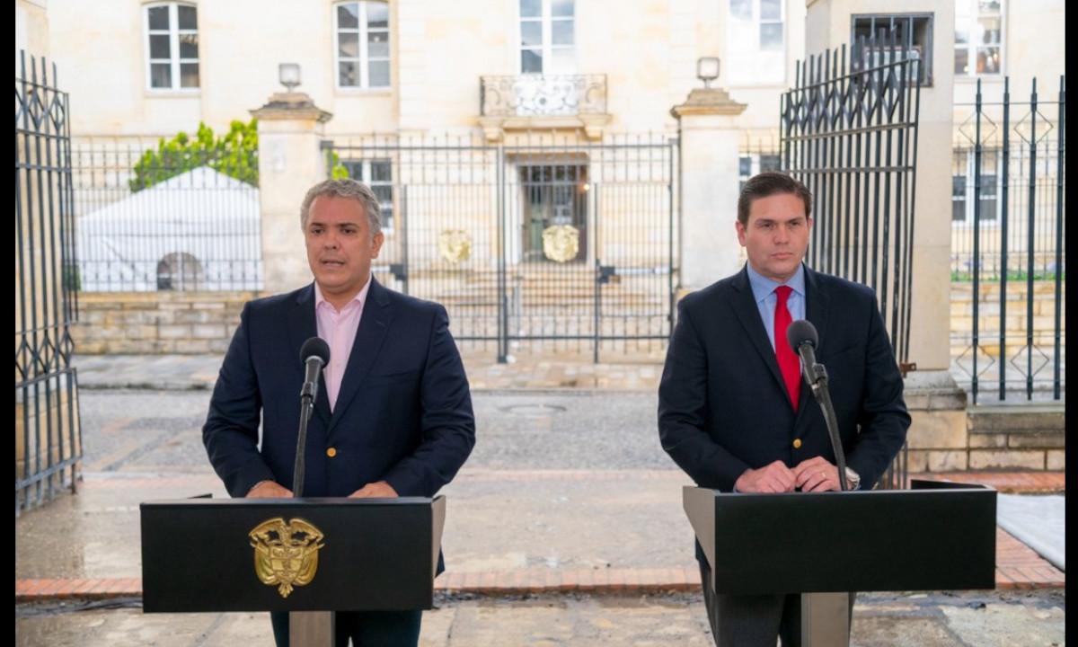 Presidente Duque nombró a Juan Carlos Pinzón como nuevo embajador de Colombia en Estados Unidos