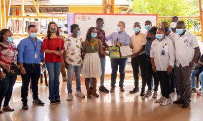 El Presidente Duque tuvo una extensa charla con jóvenes en el Chocó ¿De qué hablaron?