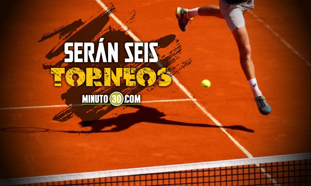 En Medellin y Oriente Antioqueno se jugara Circuito Internacional de Tenis
