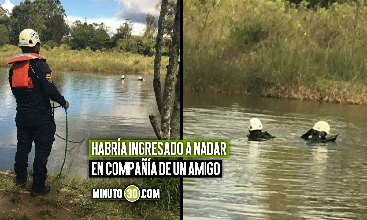 ¡Qué pesar! Encontraron un joven muerto en un lago en Rionegro