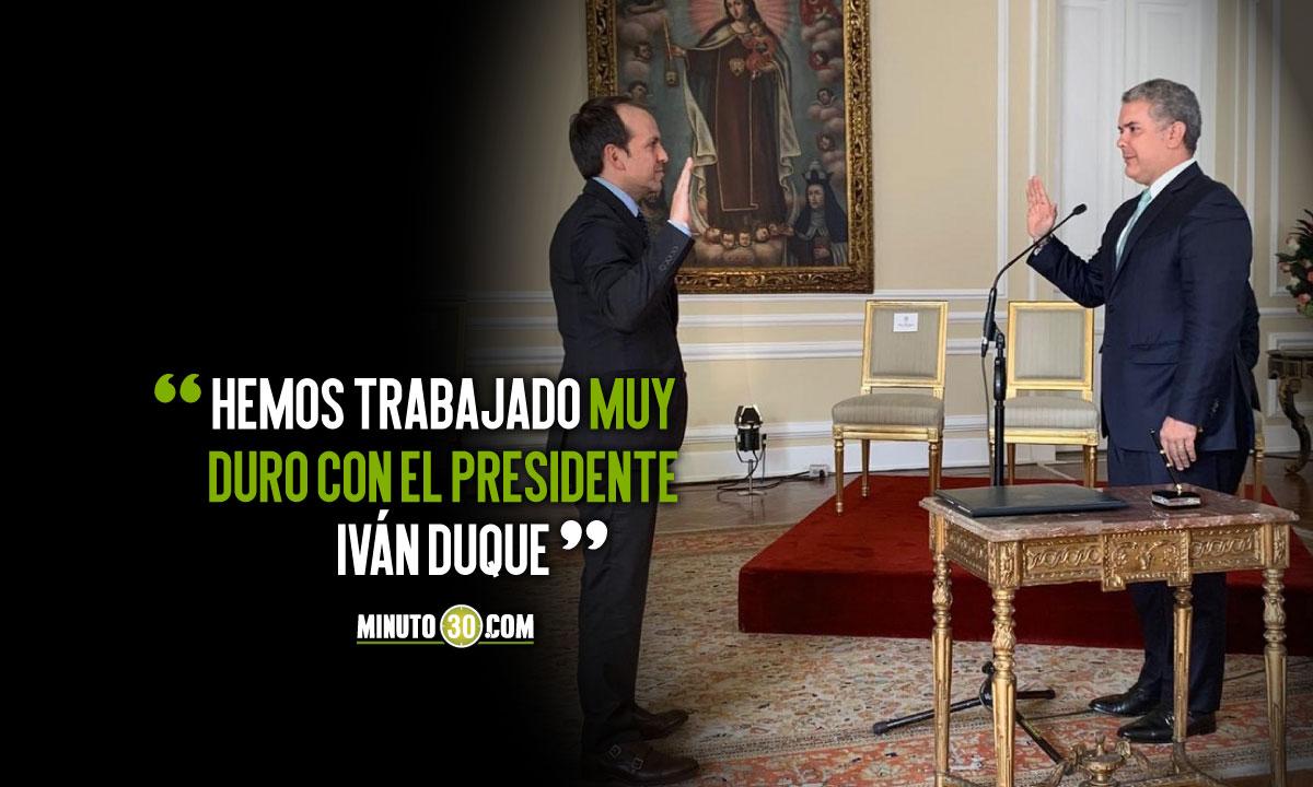 Ernesto Lucena confirmo salida del Ministerio del Deporte