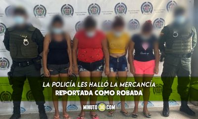 Estas cuatro venezolanas fueron capturadas por hurto en Urabá