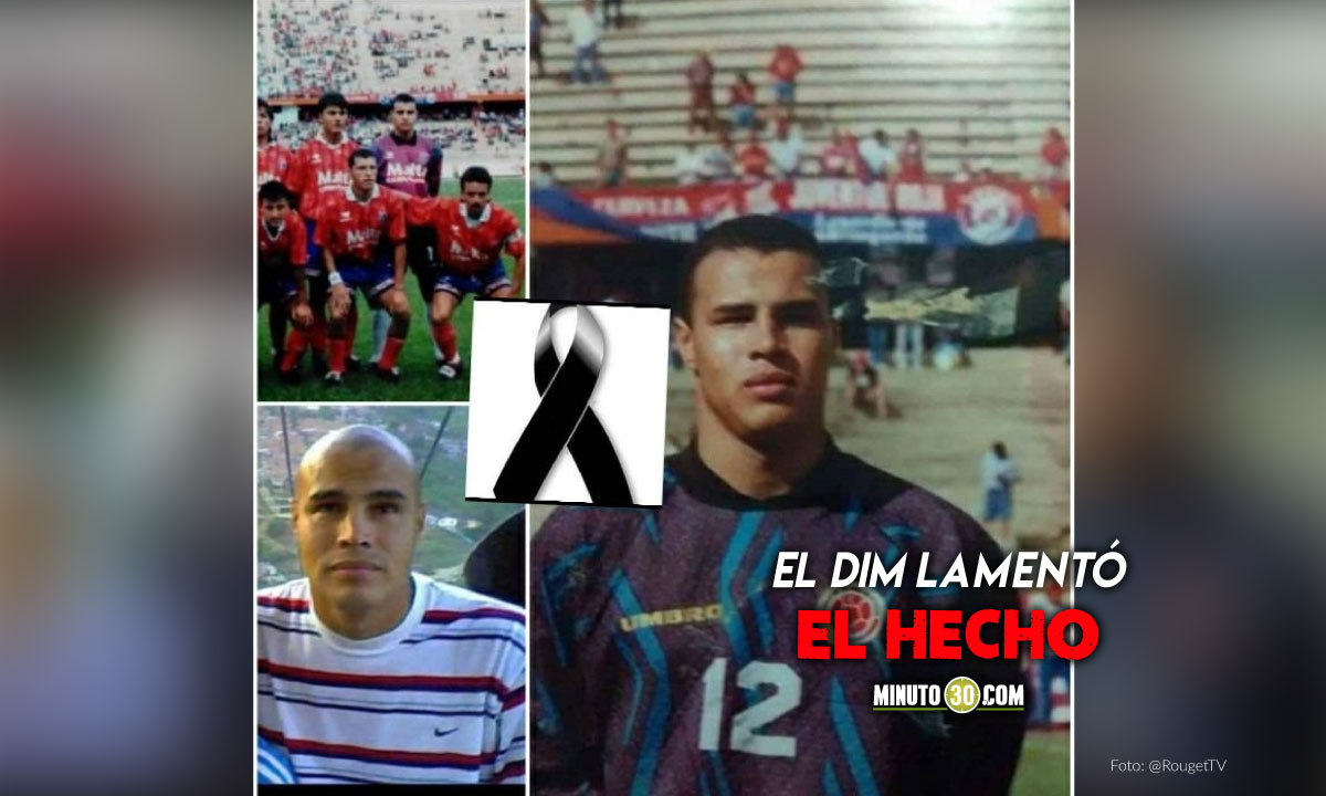 Fallecio Daniel Velez Maya exguardameta de Independiente Medellin
