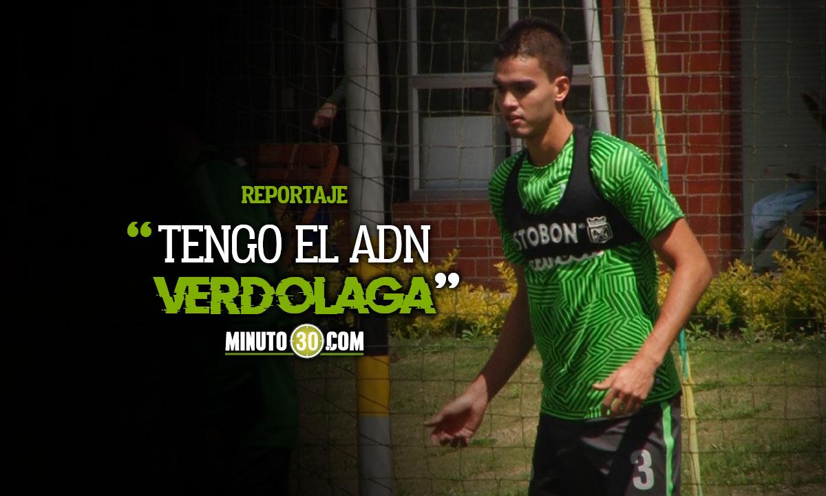 Felipe Aguilar destaco que lleva a Nacional en la sandre y llega a sumar
