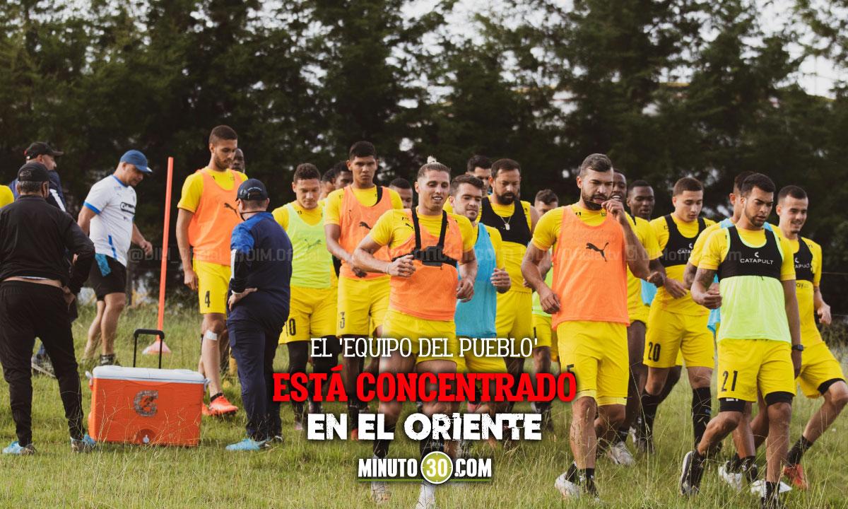 Independiente Medellin continua entrenando a doble jornada