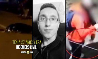 Este es el joven que murió por bloqueo con cable en Bogotá