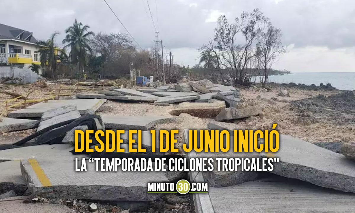 Inició la temporada de huracanes y la Contraloría solicitó a las autoridades de San Andrés que se preparen