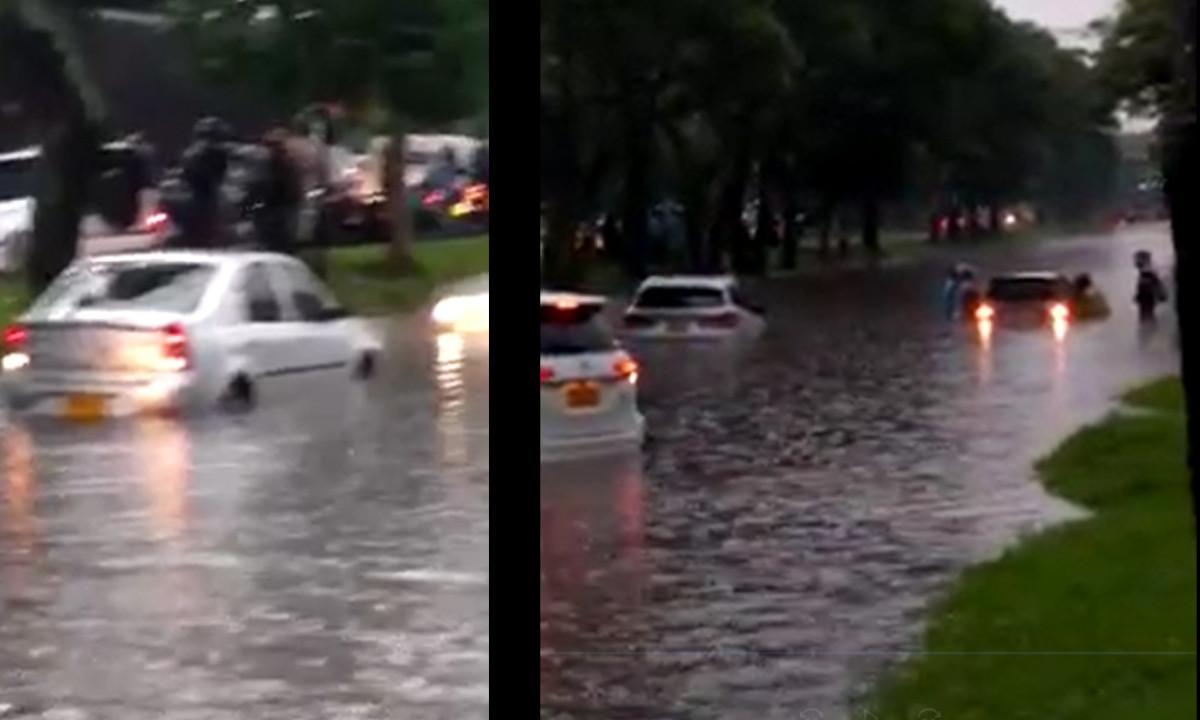 ¡Pilas! Continúa inundada la Avenida Regional