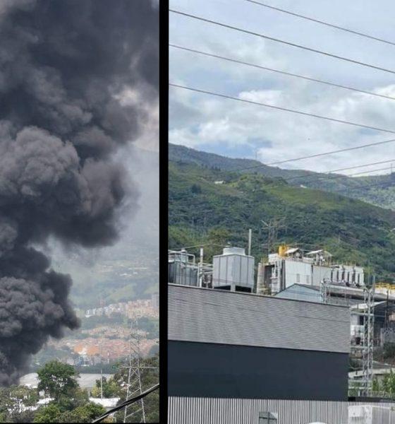 Confirman la muerte de tres personas tras el incendio en Girardota