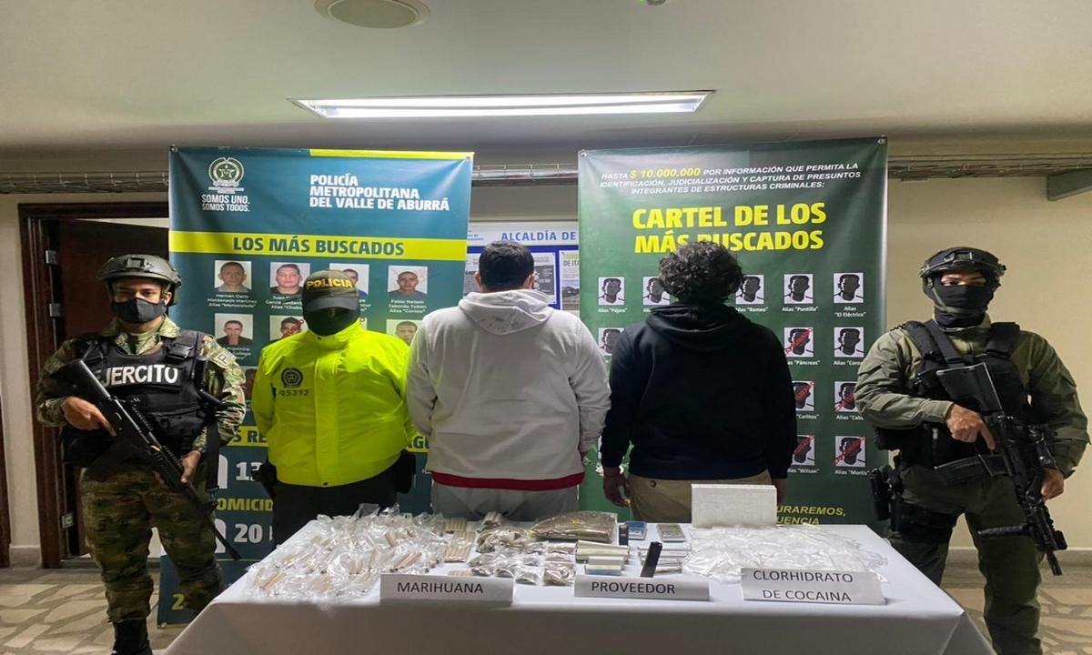 Itagüí-capturados-banda-La Unión