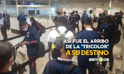 La Seleccion Colombia llego a Brasil para disputar la Copa America