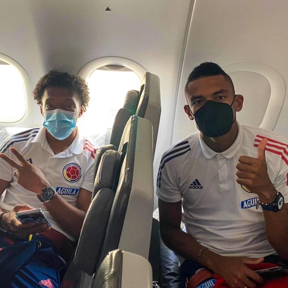 La Seleccion Colombia viajo a Brasil para afrontar la Copa America 3 1