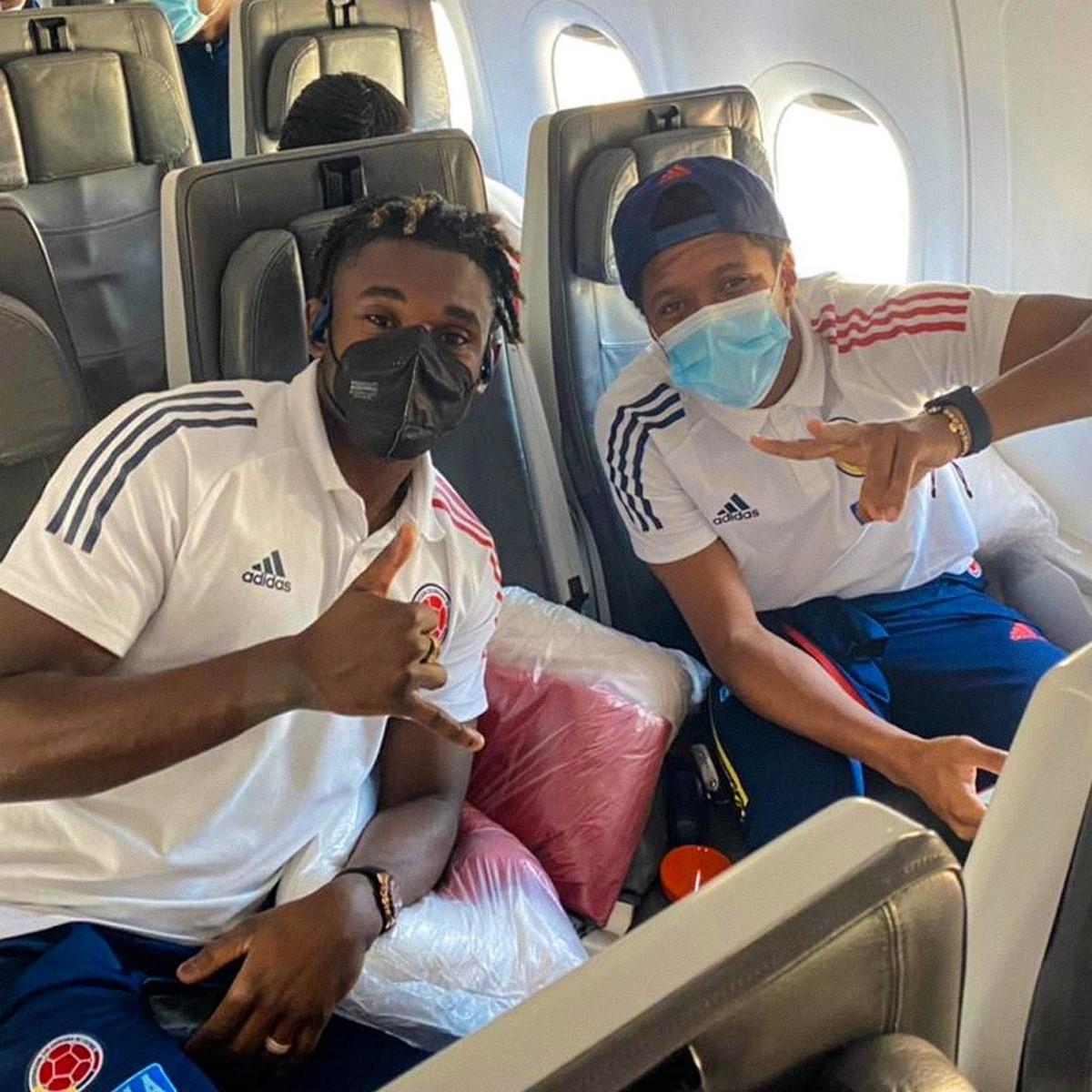 La Seleccion Colombia viajo a Brasil para afrontar la Copa America 4 1