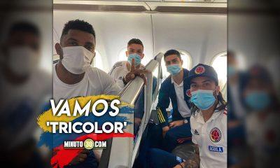 La Seleccion Colombia viajo a Brasil para afrontar la Copa America