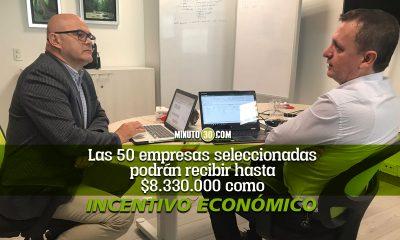 Las 50 empresas seleccionadas podran recibir hasta 8330000 como incentivo economico