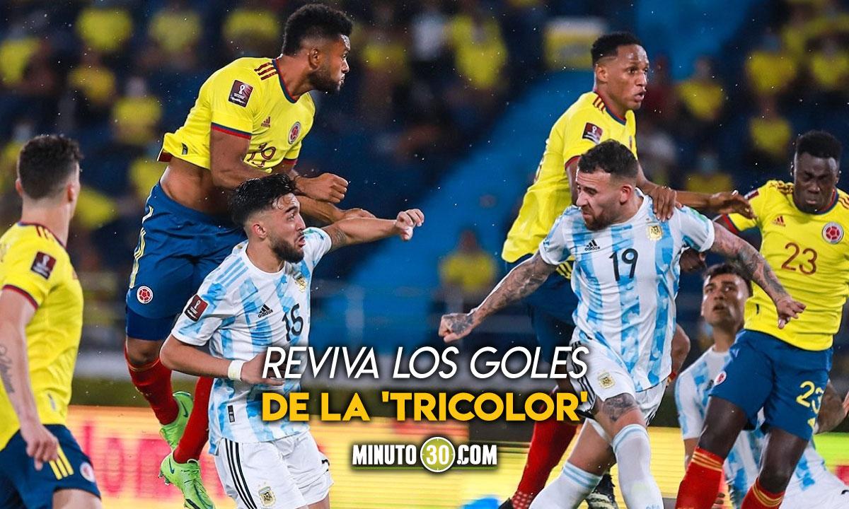 Las postales que dejo el empate entre Colombia y Argentina