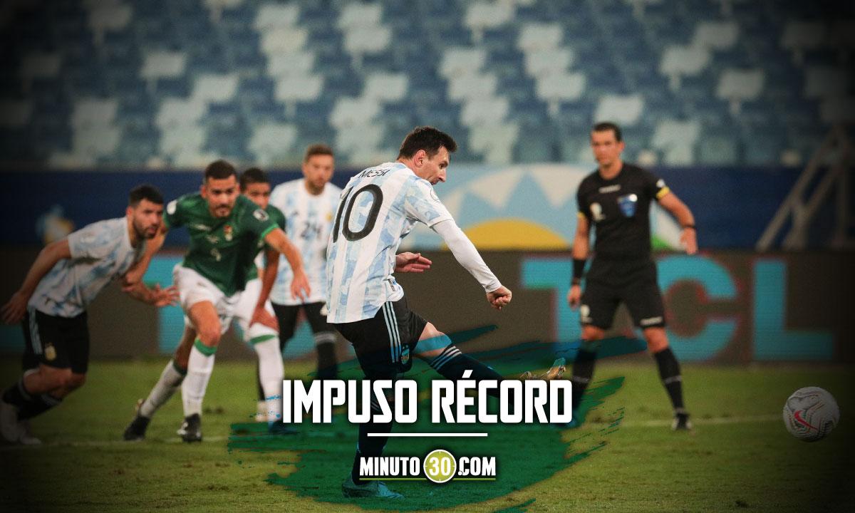 Lionel Messi se convirtio en el jugador con mas partidos con la Seleccion Argentina