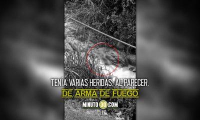 Lo sacaron con vida pero murio En la quebrada La Iguana lo encontraron malherido