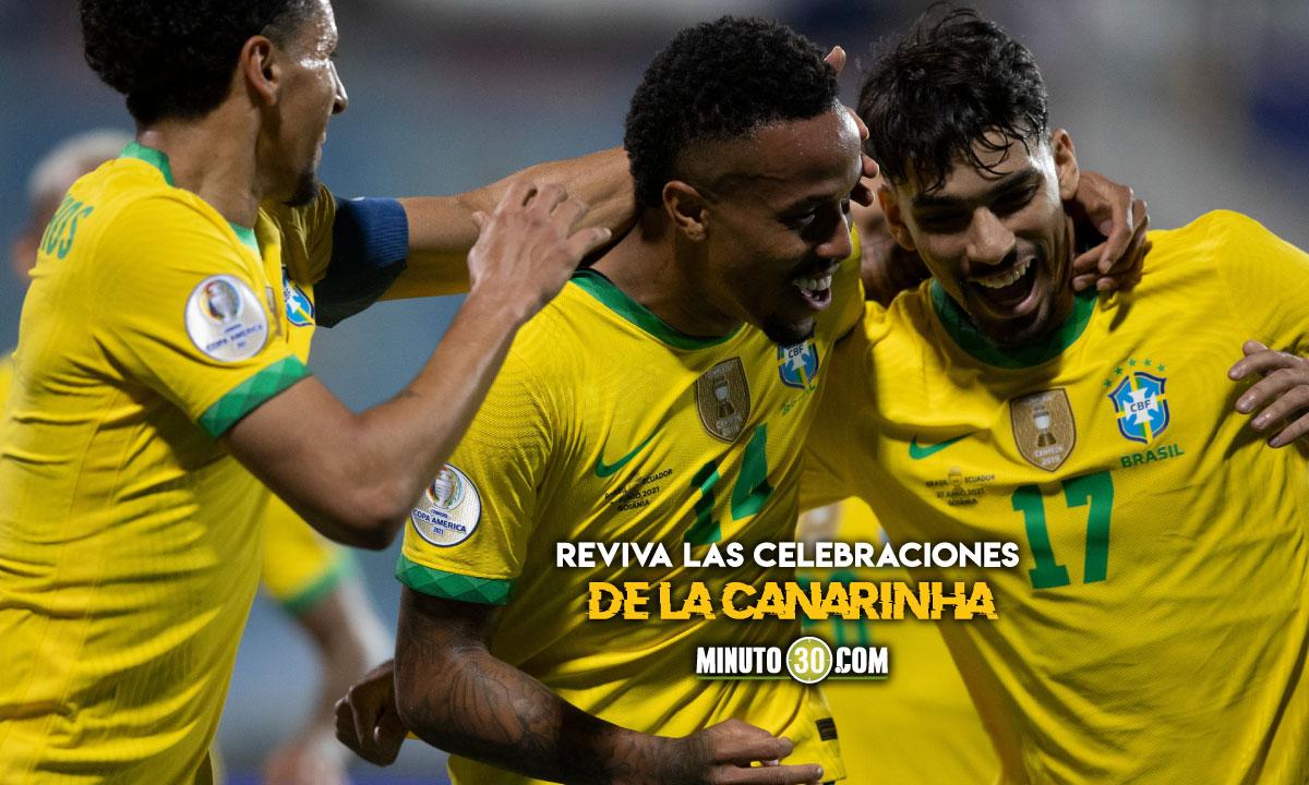 Los goles de Brasil en la Copa America 2021