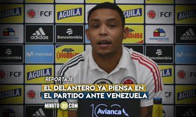 Luis Fernando Muriel acepta sin reparos lo que disponga el entrenador en el frente de ataque