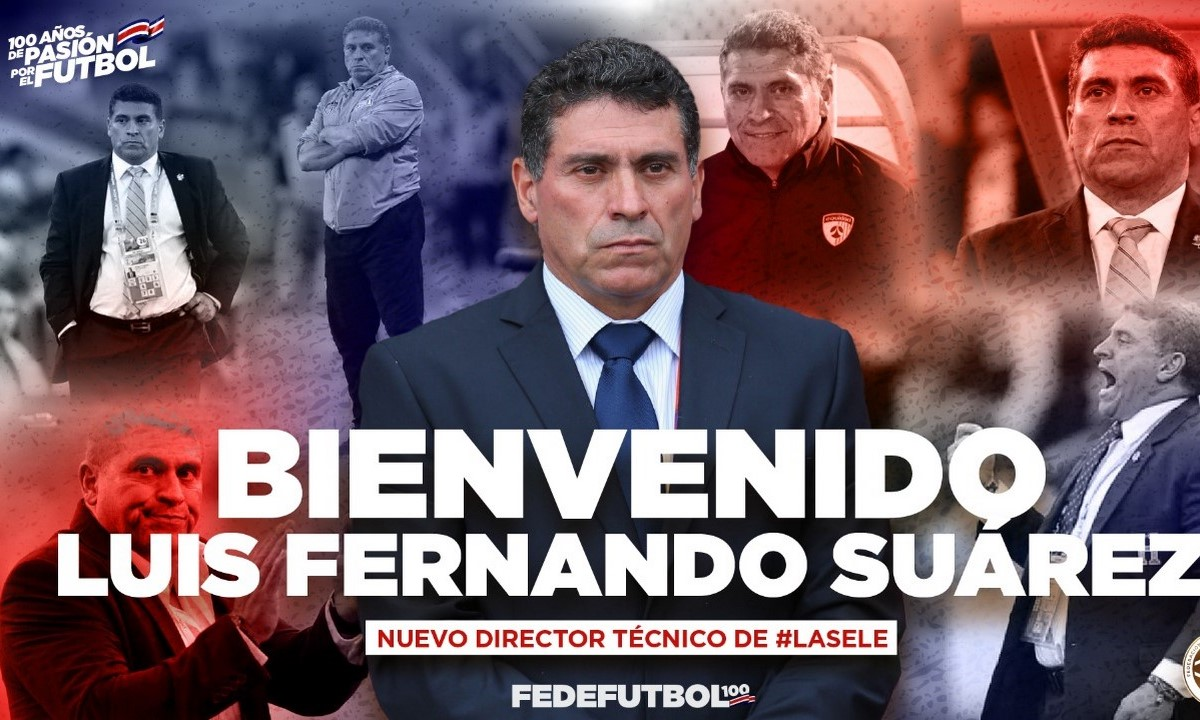 Luis Fernando Suarez nuevo DT de La Sele Copiar