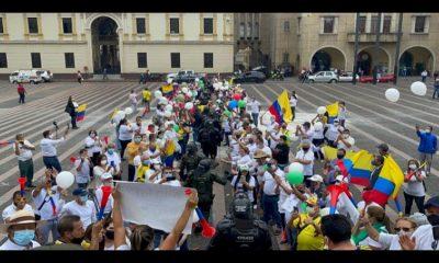 En Manizales realizaron la 'Marcha del Silencio'