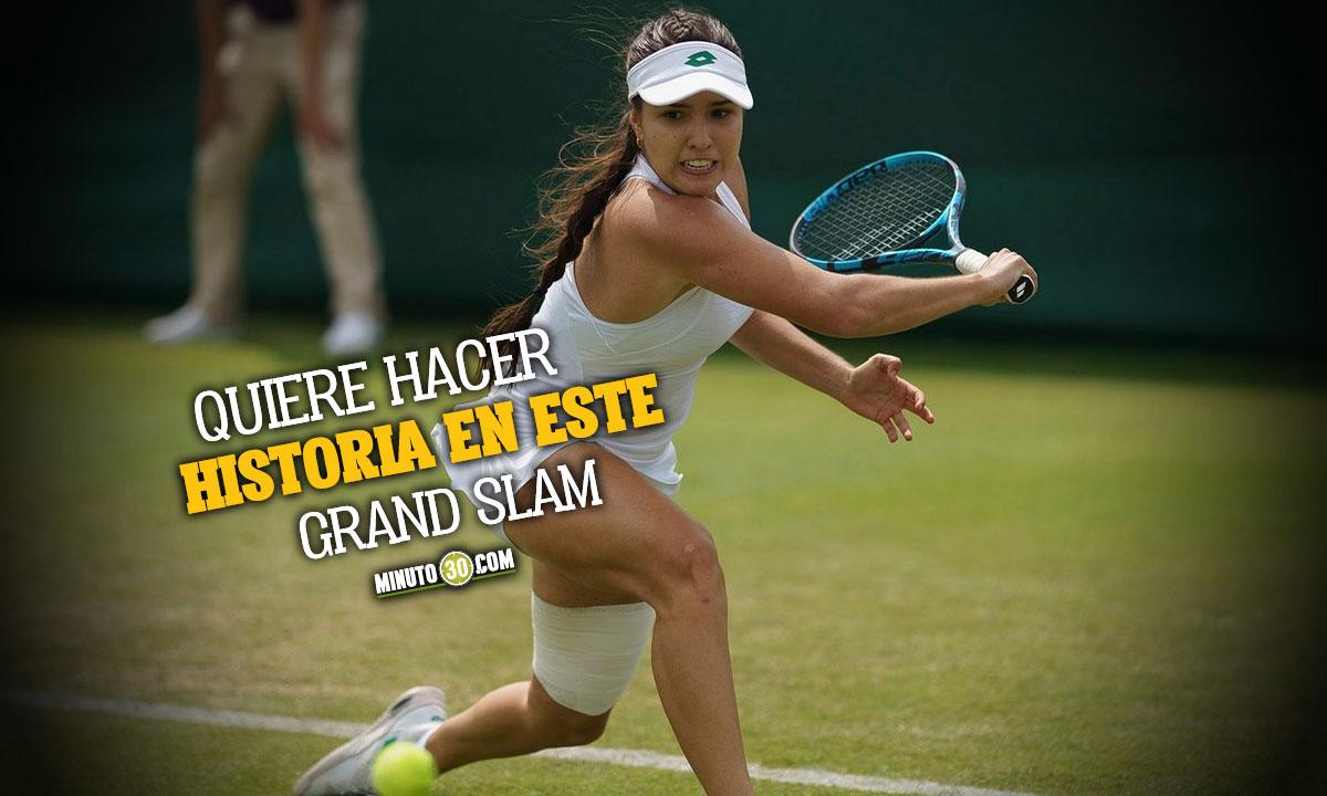 Maria Camila Osorio jugara su primer cuadro principal en Wimbledon