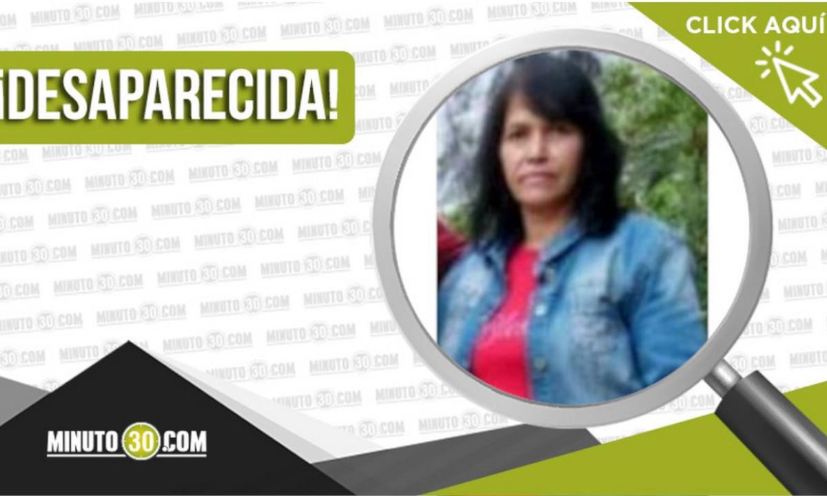 María Consuelo Carmona está desaparecida, fue vista por última vez en Rionegro