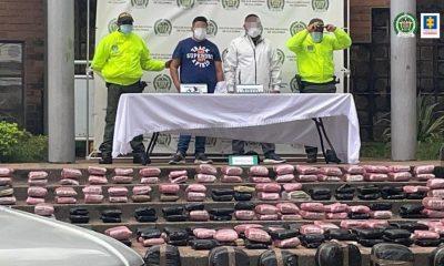 Los pillaron guardando más de 350 Kilos de marihuana en un apartamento en Bello