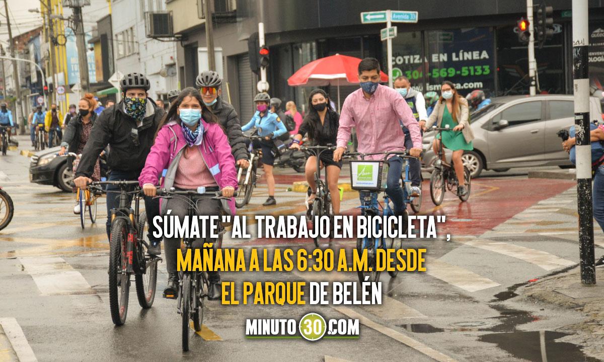Medellín conmemora mañana el Día Mundial de la Bicicleta