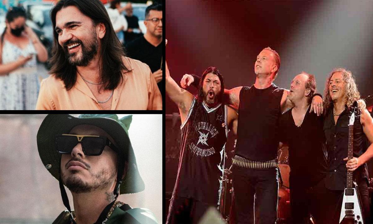 ¡No perdonaron! Memes sobre el anuncio de Metallica y su grabación con Juanes y J Balvin