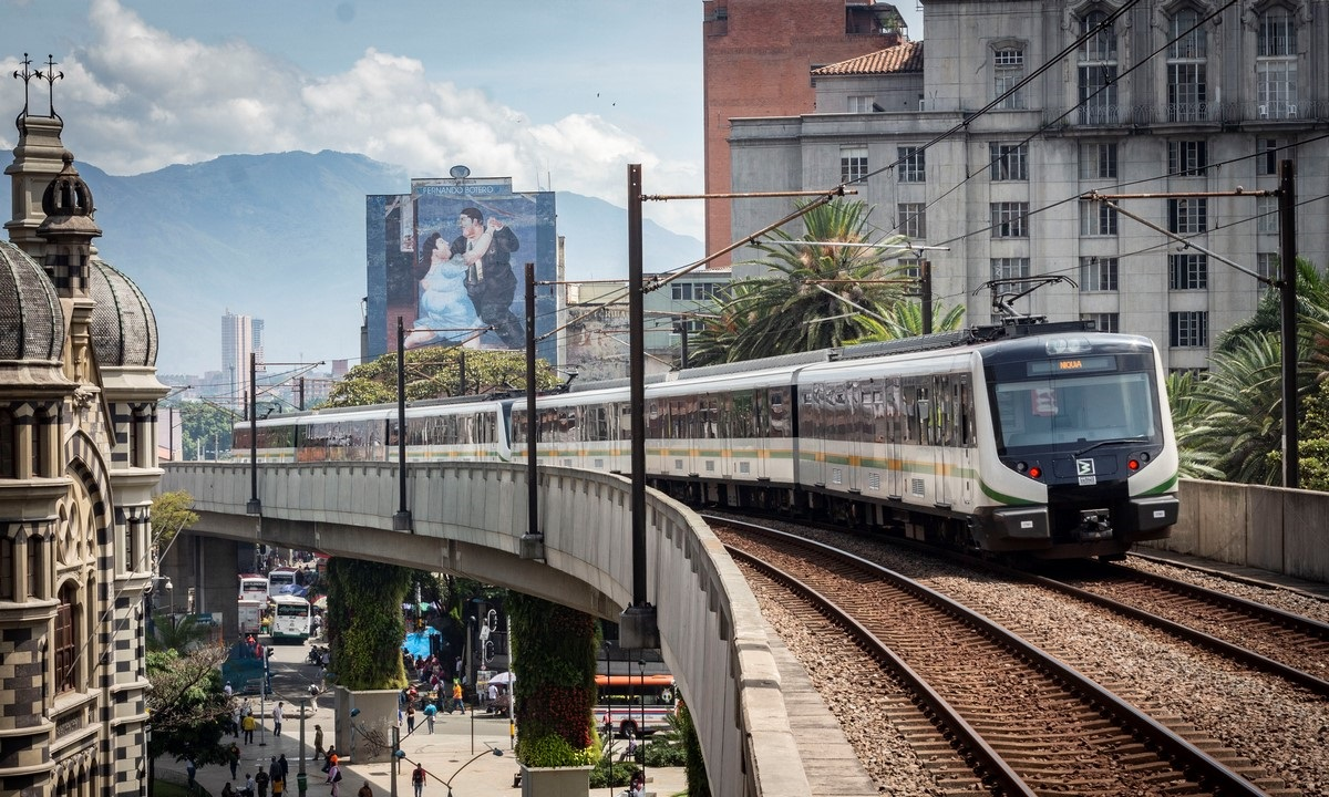 Así opera el Metro de Medellín por protestas de este lunes