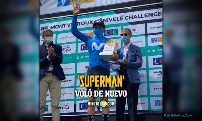 Miguel angel Lopez campeon del Mont Ventoux