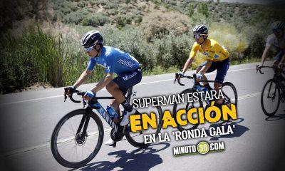 Miguel angel Lopez en el equipo del Movistar que participara en el Tour