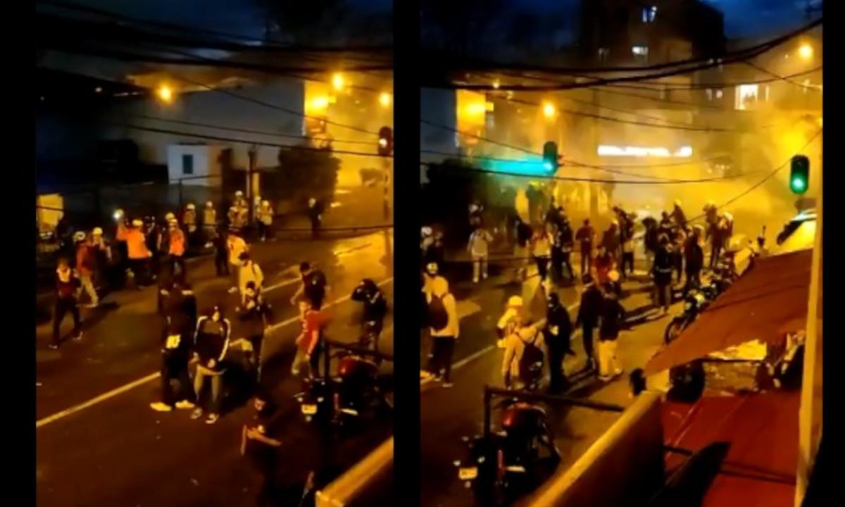 Disturbios en zonas de Carabobo Norte y Moravia