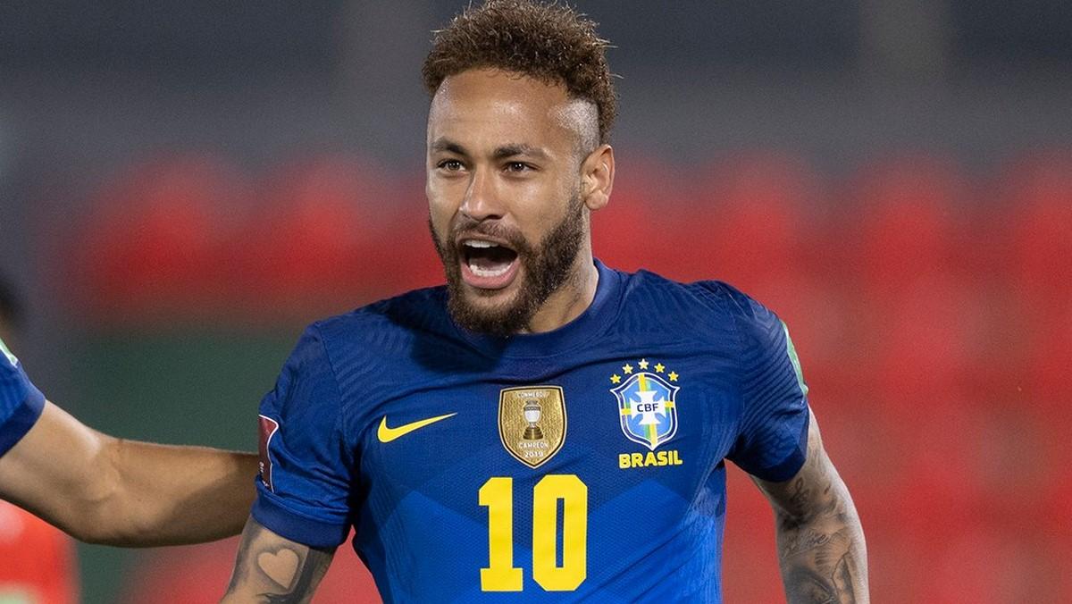 Neymar protagonista con la Seleccion de Brasil 1