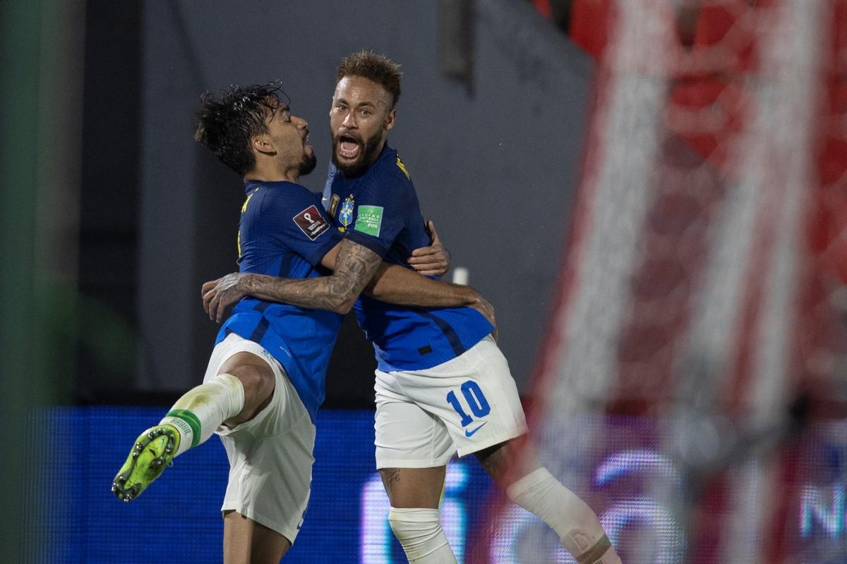 Neymar protagonista con la Seleccion de Brasil 5