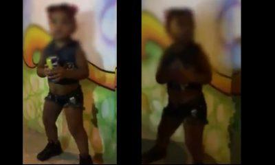 ¡Otra vez! Grabaron a una niña de 3 años con cerveza en mano en Cartagena
