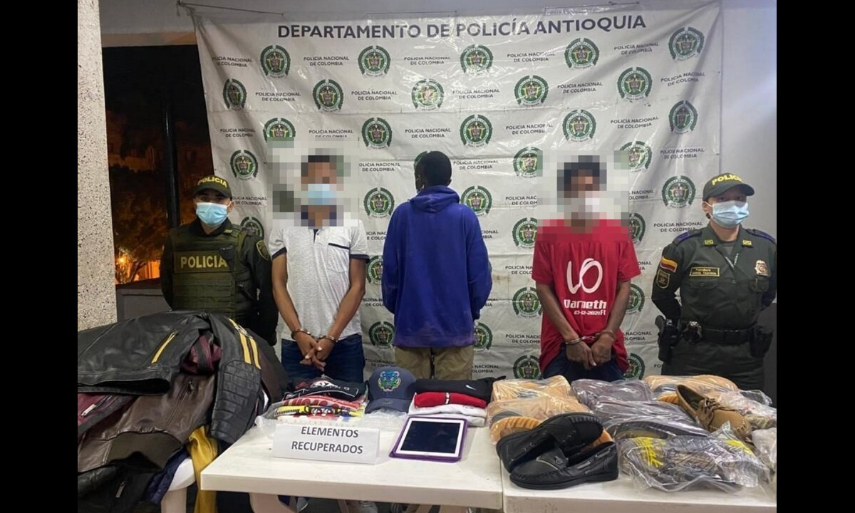 Intentaron robar un local comercial en El Peñol y los capturaron