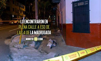 Que impresion En la madrugada encontraron un embolsado en plena calle de Aranjuez