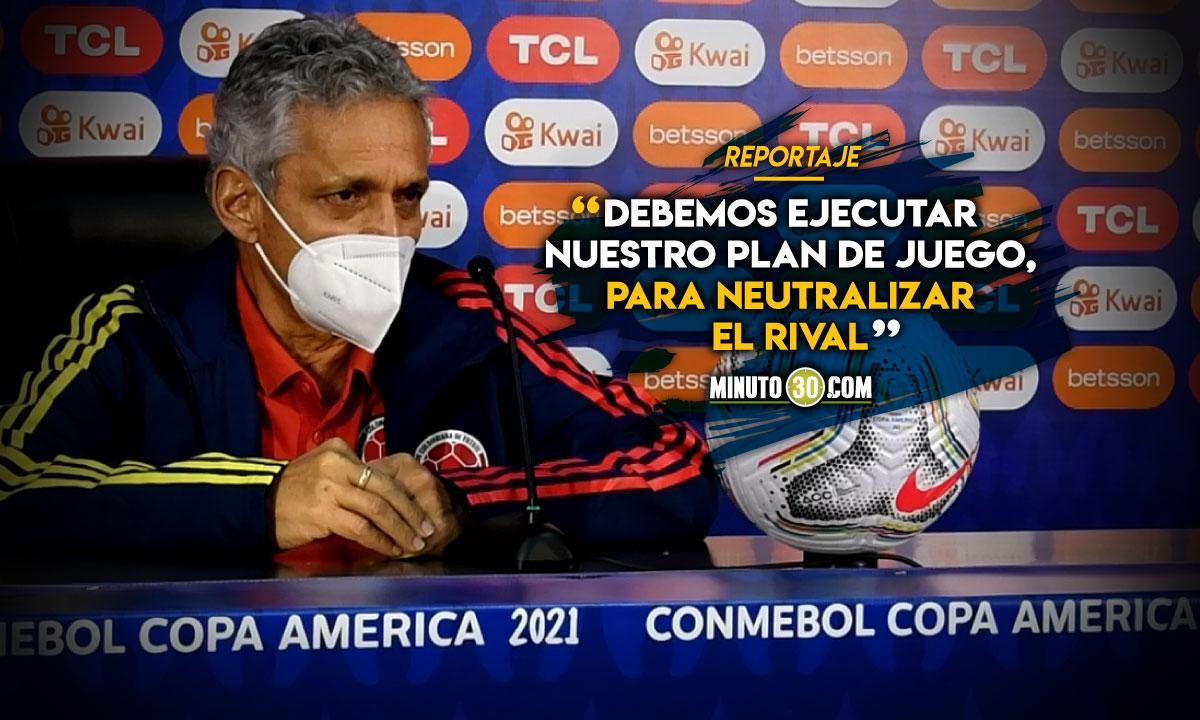 Reinaldo Rueda analiza alternativas para enfrentar a Brasil 2
