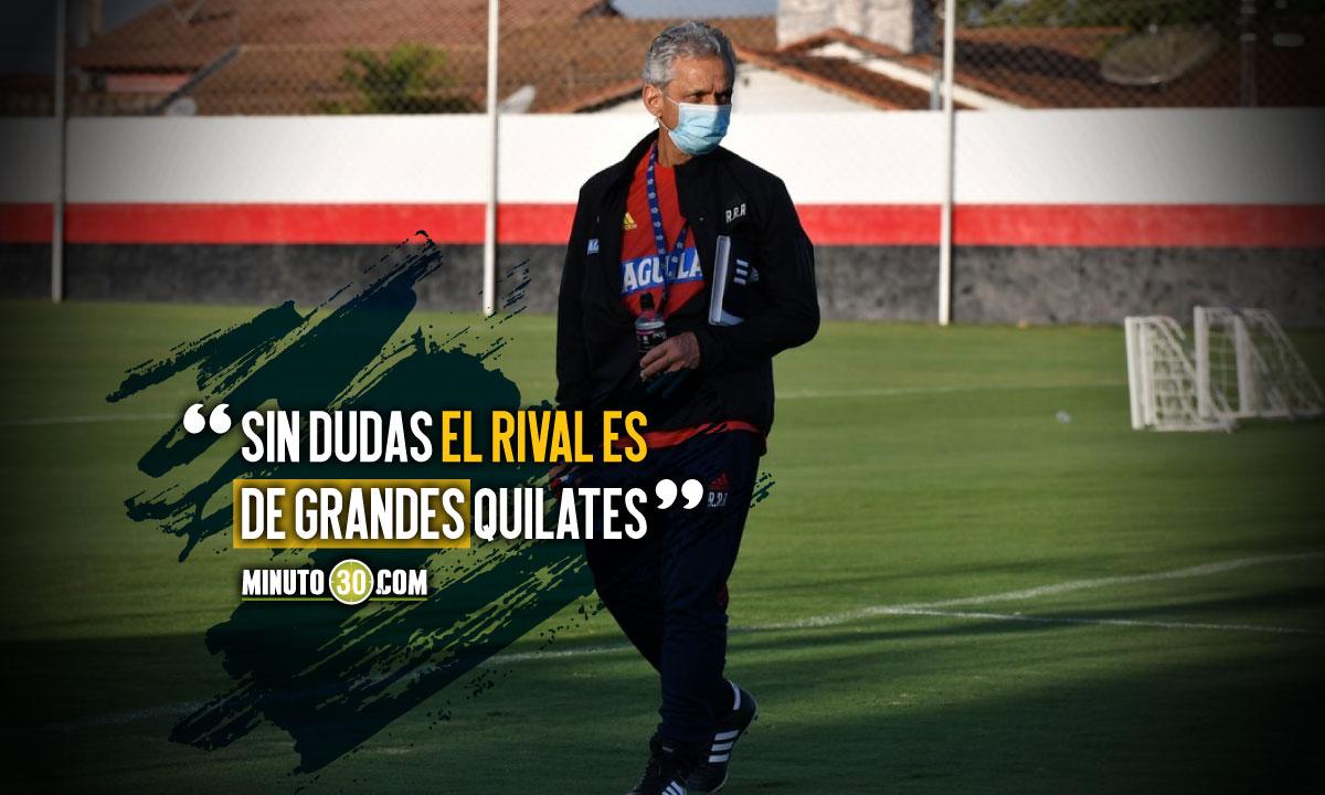 Reinaldo Rueda hablo en vispera del partido ante Brasil